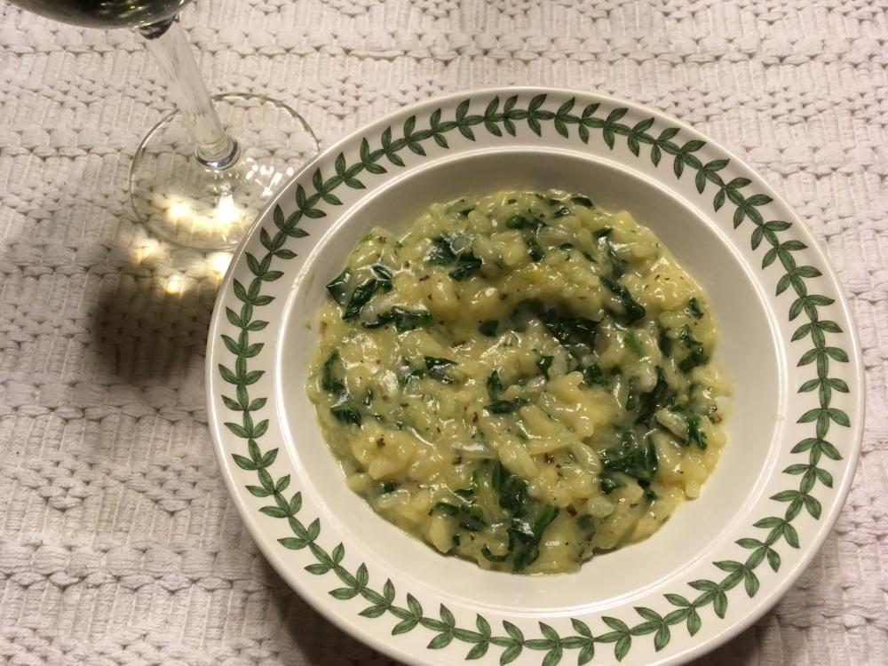Spinach Risotto (1)